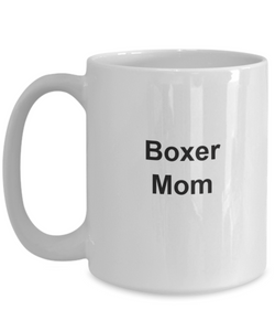 Boxer dog mom mug coffee gifts-GranvilleDesigns