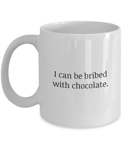 Bribed with Chocolate Mug-GranvilleDesigns