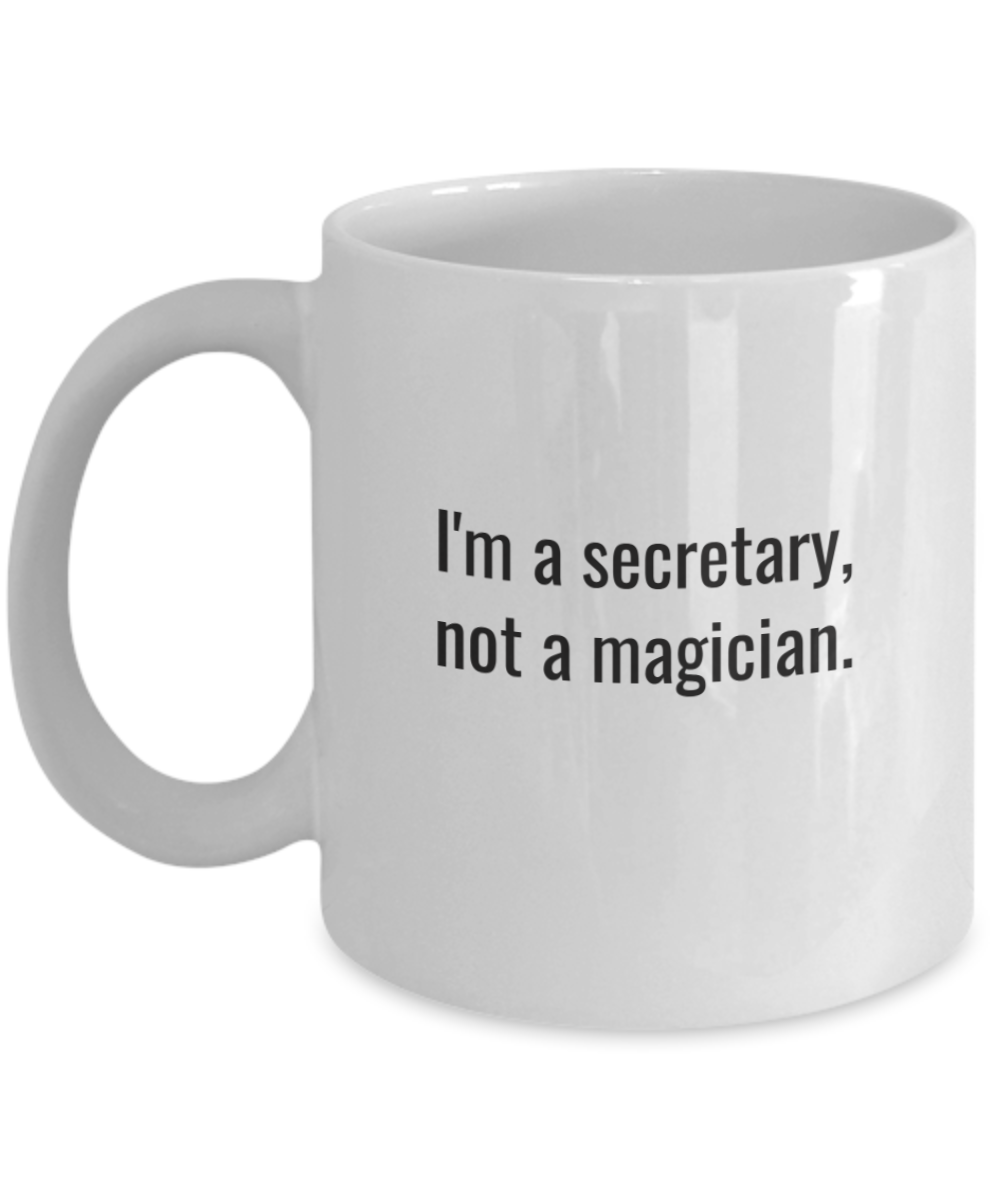 Coffee mug secretary-GranvilleDesigns