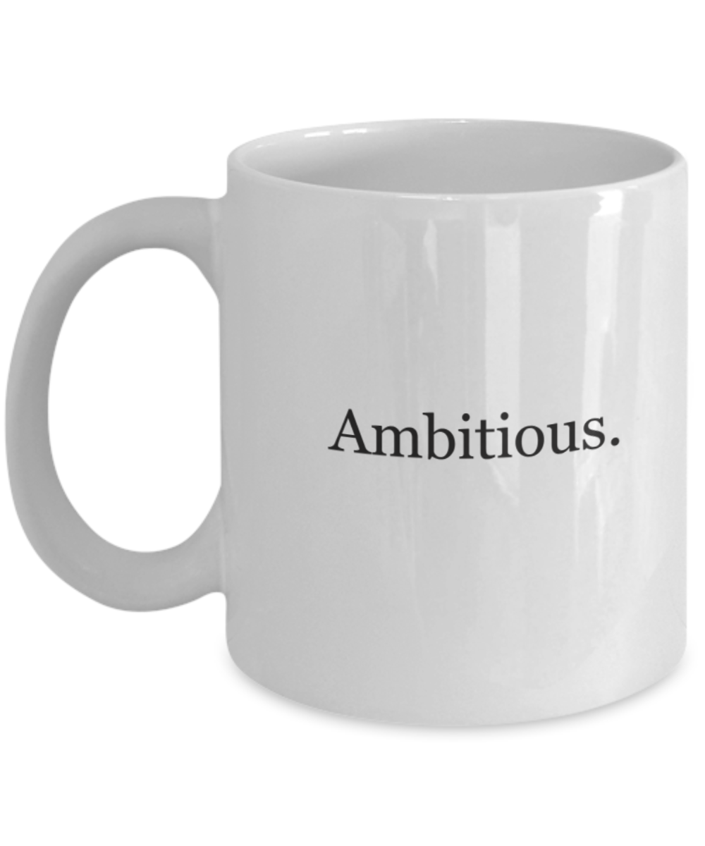 An Ambitious Woman mug-GranvilleDesigns