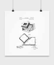 Camera patent poster-GranvilleDesigns