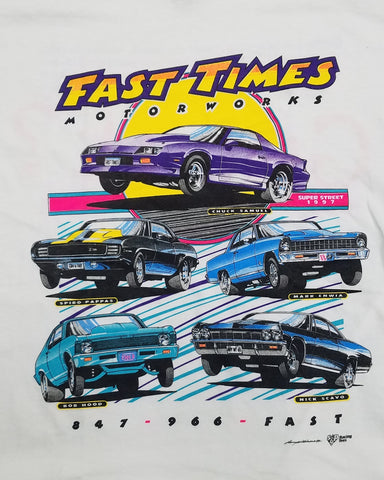 FASTTIMES RETRO '5-CAR' SHIRT