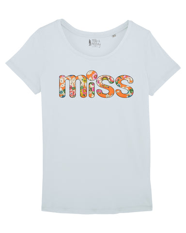"T-Shirt ""MISS FLOWER"""