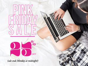 Reminder: Only 2 Days Left to Shop Our PINK FRIDAY Sale!