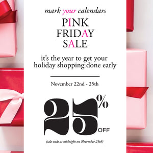 Our Pink Friday Sale Starts Friday!