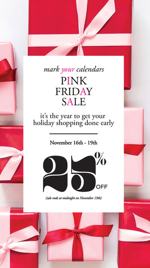 Our Biggest Shopping Event of the Year starts on Friday!