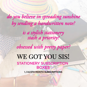 Stationery Subscription Boxes are here!!