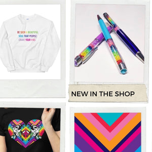 New Rainbow Products In the Shop