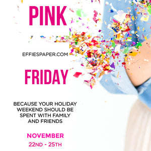 We're Excited to Announce our Pink Friday Sale!