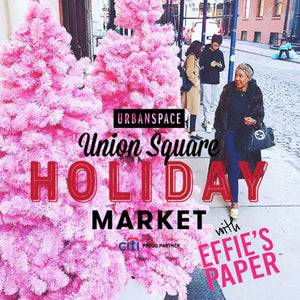 Come See Us at Union Square Holiday Market in November