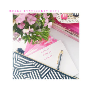 BOXED STATIONERY SETS