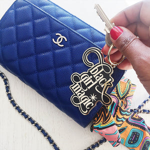 Black Girl Magic :: Enamel Keychain,   - Effie's Paper
