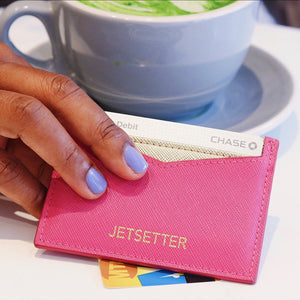 Jetsetter :: Credit Card Wallet,   - Effie's Paper