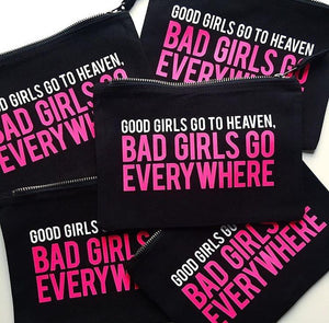 GOOD GIRLS/BAD GIRLS :: Makeup Bag,   - Effie's Paper