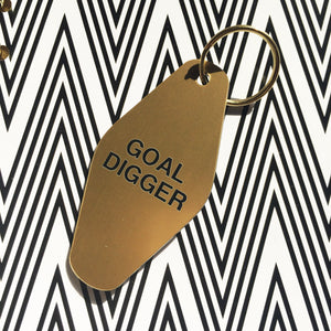 GOAL DIGGER :: Key Chain,   - Effie's Paper