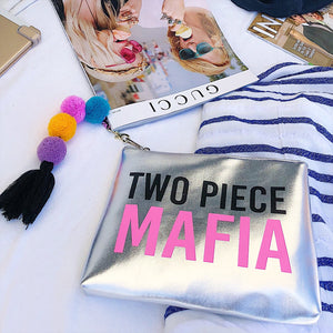 Two Piece Mafia :: Wet Bathing Suit Bag,   - Effie's Paper