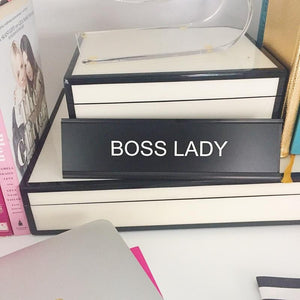 BOSS LADY :: Nameplate,   - Effie's Paper