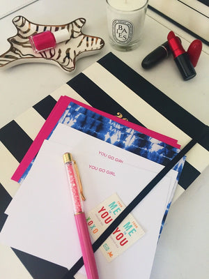 You Go Girl :: Boxed Stationery Set,   - Effie's Paper