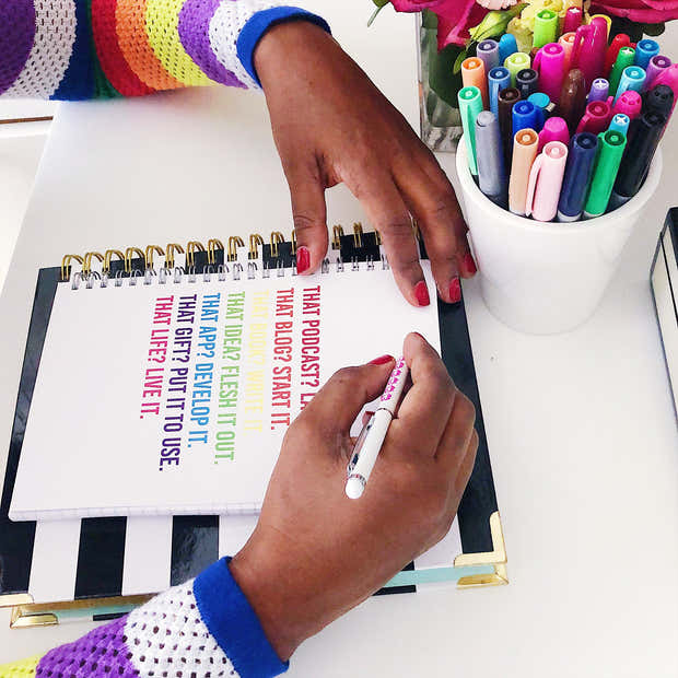 Live Life :: Spiral Notebook, Wholesale 1