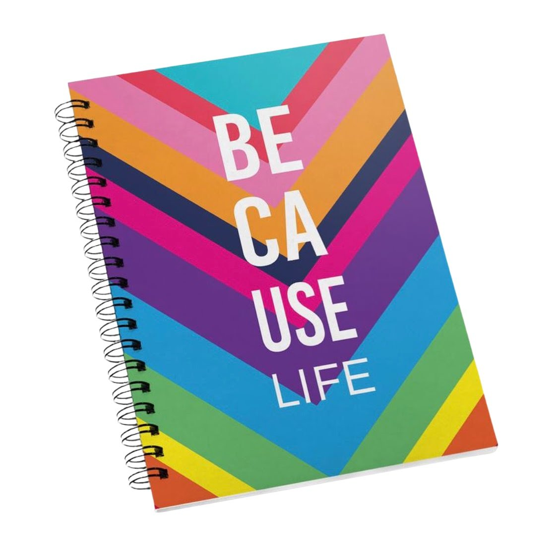 Because Life :: Spiral Notebook