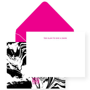 Too Glam To Give A Damn! :: Boxed Stationery Set, Wholesale