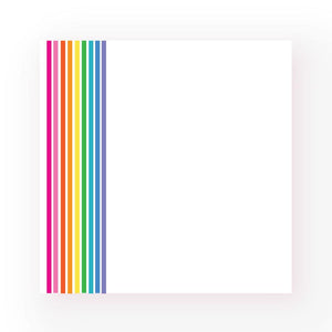 Rainbow Stripe :: Post-It Notes