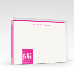 Too Glam To Give A Damn! :: Boxed Stationery Set