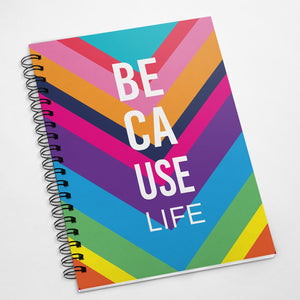 Because Life :: Spiral Notebook, Wholesale