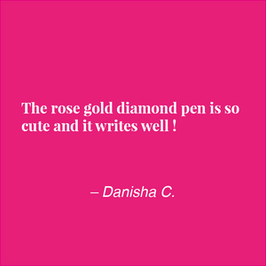 Diamond Pen :: Rose Gold