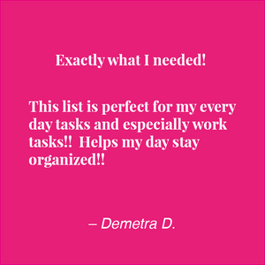 To Do List Organizer :: Notepad