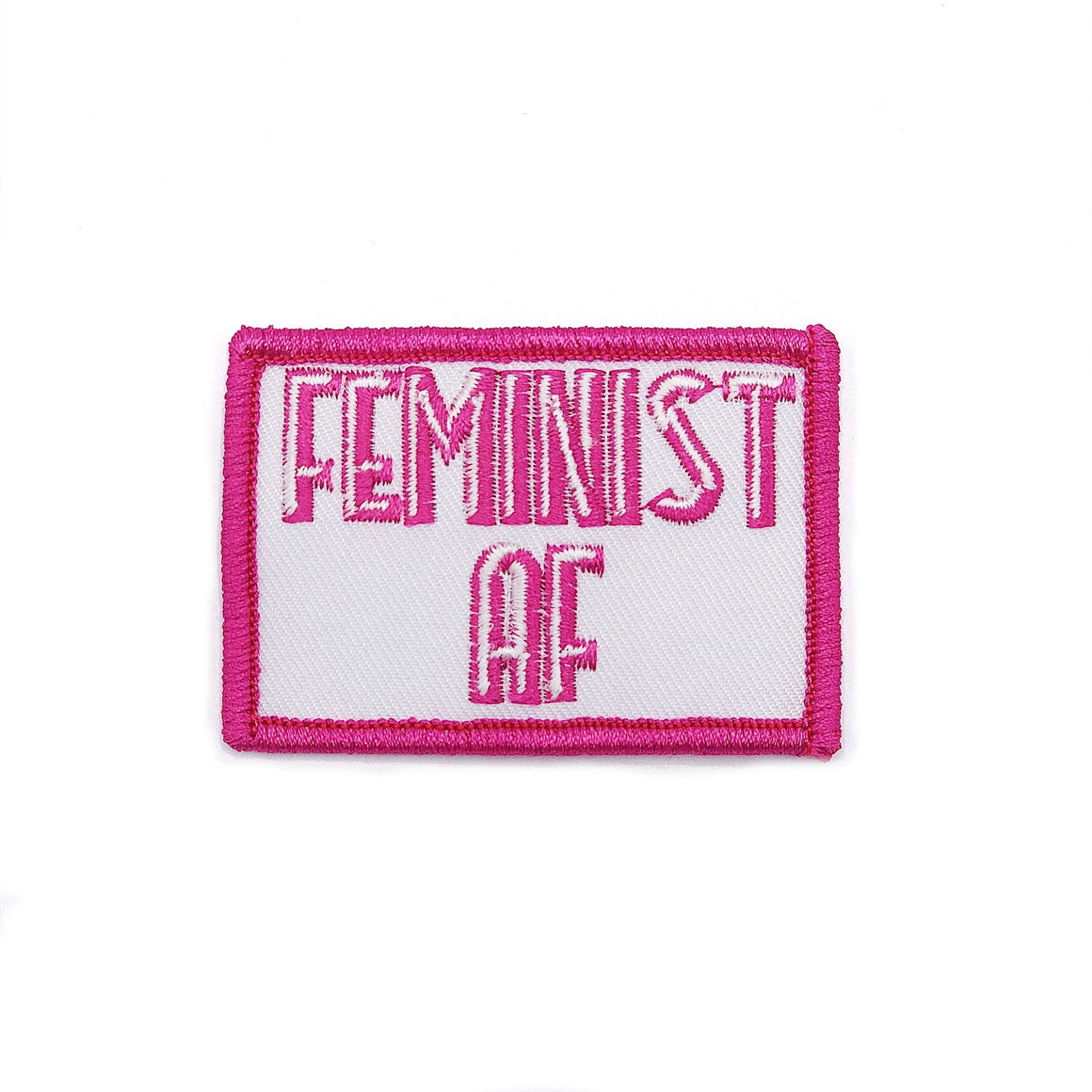 Feminist AF :: Iron-On Patch