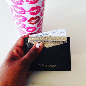 Global Nomad :: Credit Card Wallet,   - Effie's Paper