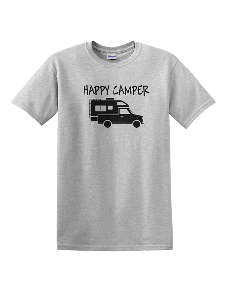 Happy Camper TRUCK CAMPER T-Shirt
