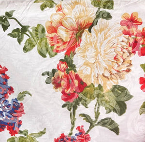 "Flower Garden Poly Cotton, 58""/60"" Inches Wide – Sold By The Yard"