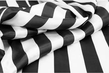 "Striped 2"" Poly Cotton Fabric - Sold By The Yard - 58"" / 59"""