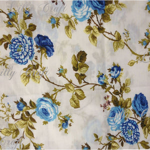 "Roses Poly Cotton, 58""/60"" Inches Wide – Sold By The Yard"