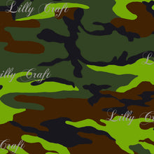 "Camouflage Poly Cotton, 58""/60"" Inches Wide – Sold By The Yard"