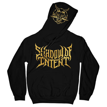 Shadow Of Intent - Goat Gold Foil Hoodie