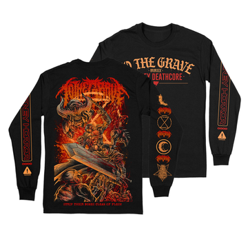 To The Grave - Doom/Berserk Long Sleeve