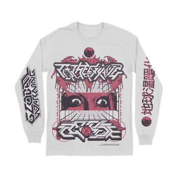 To The Grave - Ecocide White Long Sleeve