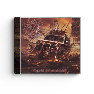 Vulvodynia/Acrania - Societal Lobotomisation Split Red CD