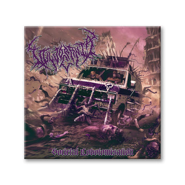 Vulvodynia/Acrania - Societal Lobotomisation Split Purple Digipak