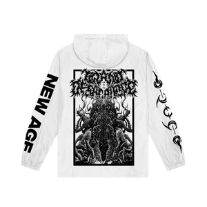 Brand Of Sacrifice - Interstice White Windbreaker
