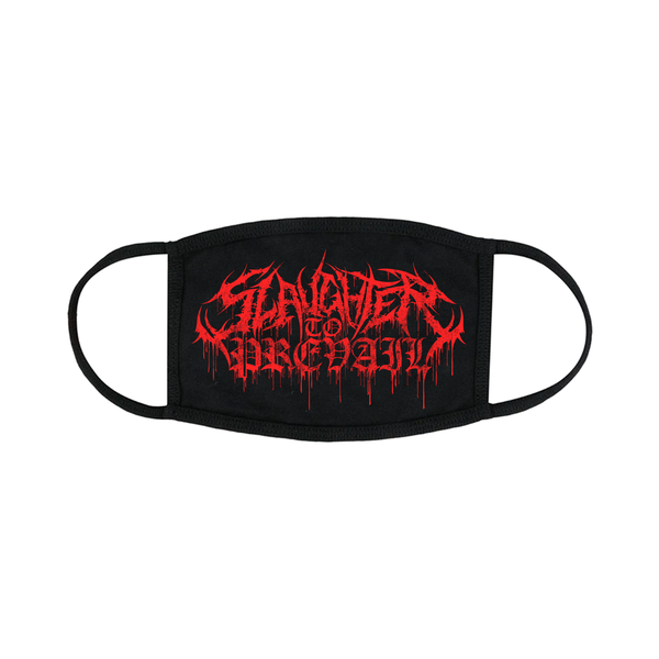 Slaughter To Prevail - Red Logo Mask