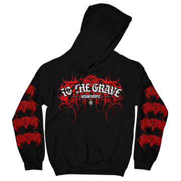 To The Grave - Misanthropic Hoodie