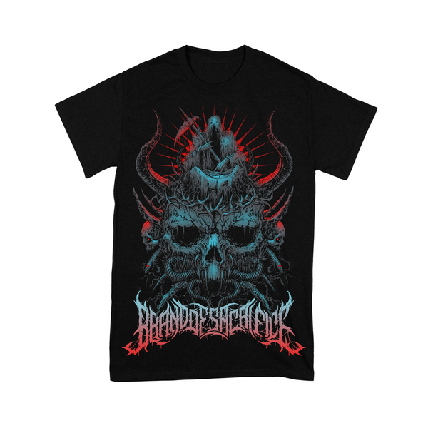 Brand Of Sacrifice - Skull Shirt