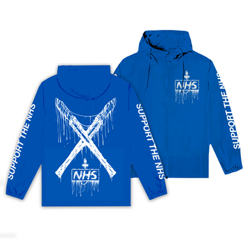 NHS Blue Windbreaker