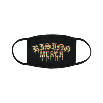 Rising Merch Gold Logo Mask