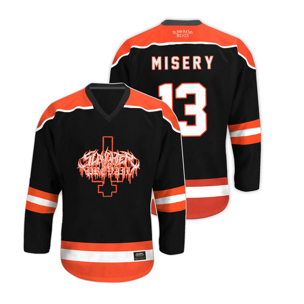 Slaughter To Prevail - Misery Hockey Jersey