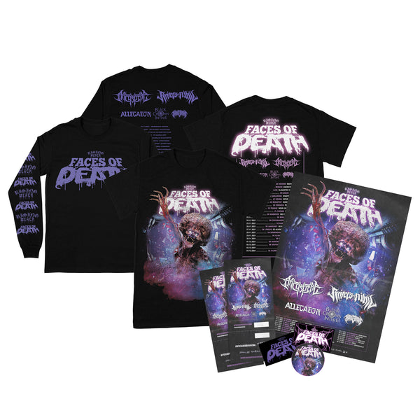 Rising Merch Faces Of Death Tour Ultimate Bundle (18/11/2021 Budapest, Hungary)